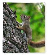 Lost Nuts Fleece Blanket