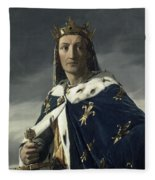 Louis Viii, King Of France Fleece Blanket