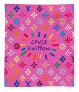 Louis Vuitton Monogram-9 Fleece Blanket