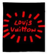 Louis Vuitton Radiant-3 Fleece Blanket