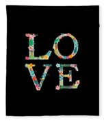 L.o.v.e Fleece Blanket