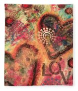 Love 2 Fleece Blanket