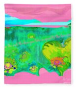 Love No. 2 Fleece Blanket