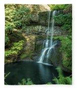 Lower South Falls Fleece Blanket