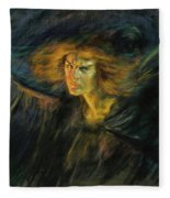 Lucifer, 1902 Fleece Blanket