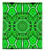 Art Deco Lucky Charms Fleece Blanket