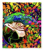 Macaw High I Fleece Blanket