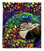 Macaw High II Fleece Blanket