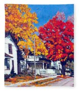Machelle Street, Fleece Blanket
