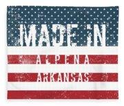 Made In Alpena, Arkansas #alpena #arkansas Fleece Blanket