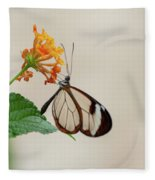 Made Of Glass Fleece Blanket