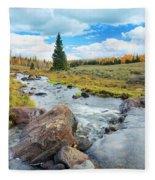 Mammoth Autumn Fleece Blanket
