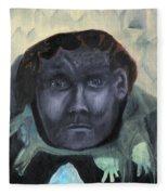 Man With Udders Fleece Blanket
