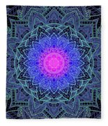 Mandala Love Fleece Blanket