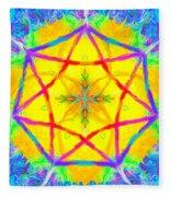 Mandala 12 9 2018 Fleece Blanket