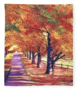 Maple Tree Lane Painting By David Lloyd Glover