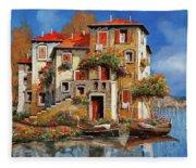 Mareblu-tetti Rossi Fleece Blanket