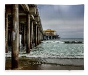 Mariasol On The Pier 2 Fleece Blanket