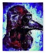Plague Mask 3 Fleece Blanket