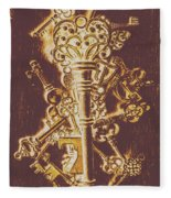 Master Key Fleece Blanket