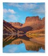 Mat Martin Point And The Colorado Fleece Blanket