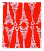 Match Made In Paris Fleece Blanket
