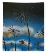 Meadow At Dawn Fleece Blanket