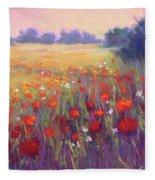 Meadow Dreaming Fleece Blanket