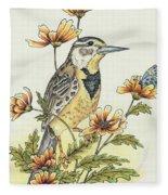 Meadow Song Fleece Blanket
