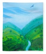 Medellin Natural Fleece Blanket