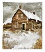 Memories Of Winters Past Fleece Blanket