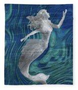 Mermaid - Beneath The Waves Series Fleece Blanket