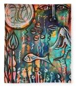 Mermaids Dream Fleece Blanket