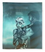 Metropolis Revisited  Fleece Blanket