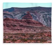 Mexican Hat Fleece Blanket