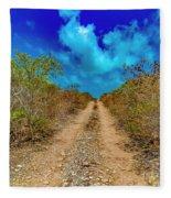 Middle Caicos Rocky Road Fleece Blanket