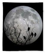 Midnight Moonshiners  Fleece Blanket