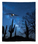 Milky Way Proposal Fleece Blanket