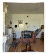 Milner Barbershop - Allensworth State Park Fleece Blanket