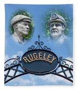Miners Of Rugeley Fleece Blanket