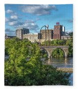 Minneapolis 03 Fleece Blanket