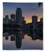 Minneapolis 13 Fleece Blanket