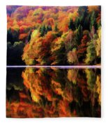 Mirrored Gallery Fleece Blanket