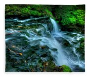 Misty Falls - 2976 Fleece Blanket