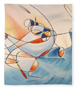 Moby Dick Fleece Blanket