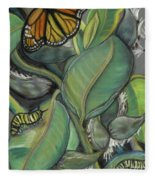 Monarch Series I Fleece Blanket