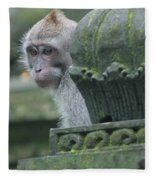 Monkey Forest Fleece Blanket