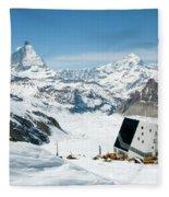 Monte Rosa Fleece Blanket