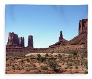 Monument Cluster Fleece Blanket