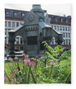 Monument Square Fleece Blanket